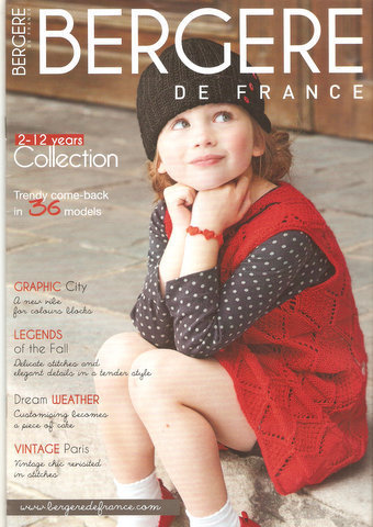 Bergere de France Heft 168 Collection 2-12 Jahre