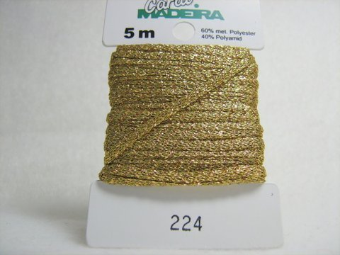 Madeira Carat F.224 Gold 2mm