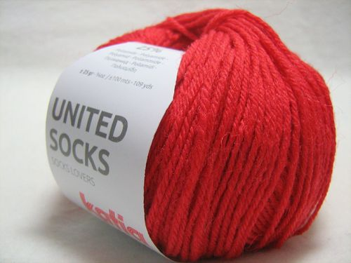 United Socks F.16 Rot