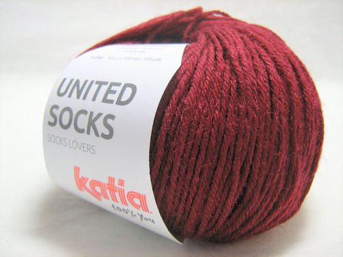 United Socks F.17 Weinrot