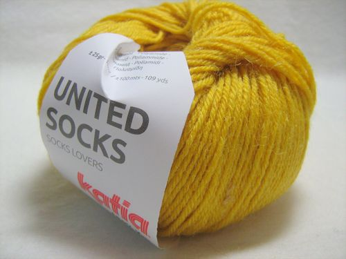 United Socks F.19 Gelb